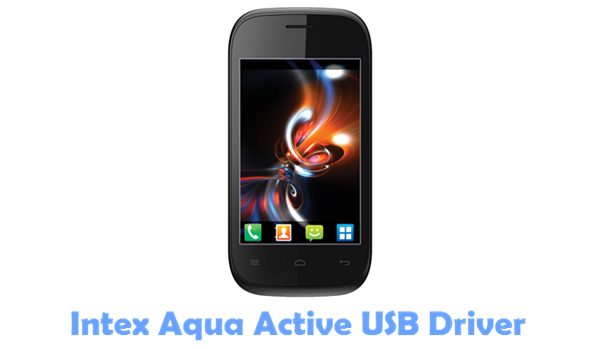 Download Intex Aqua Active USB Driver