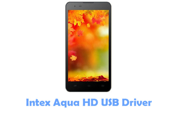 Download Intex Aqua HD USB Driver