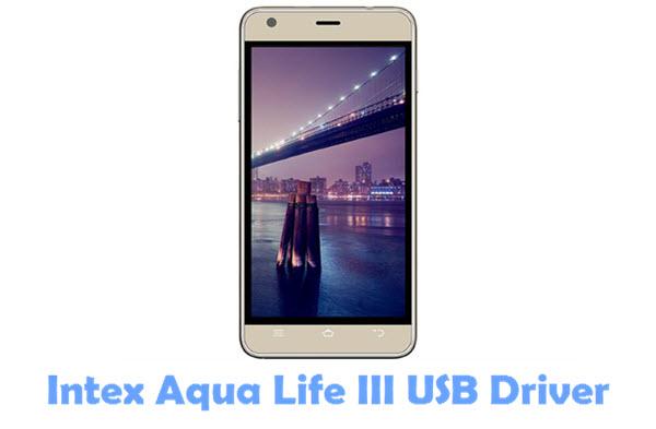 Download Intex Aqua Life III USB Driver