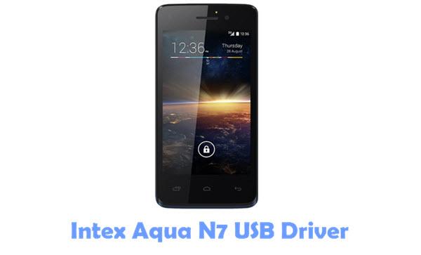 Download Intex Aqua N7 USB Driver