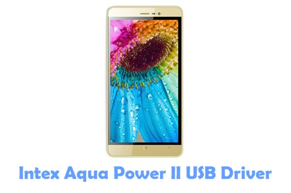 Download Intex Aqua Power II USB Driver