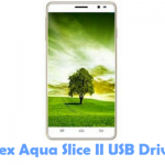 Intex Aqua Slice II USB Driver