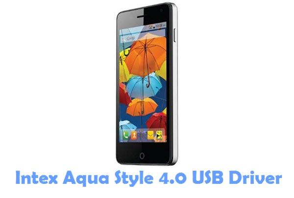 Download Intex Aqua Style 4.0 USB Driver