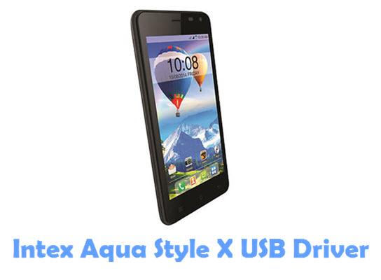 Download Intex Aqua Style X USB Driver