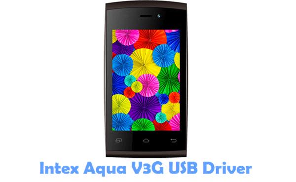 Download Intex Aqua V3G USB Driver