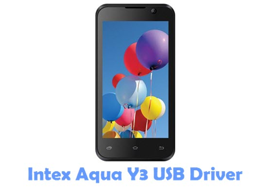 Download Intex Aqua Y3 USB Driver
