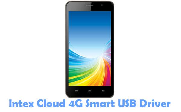 Download Intex Cloud 4G Smart USB Driver