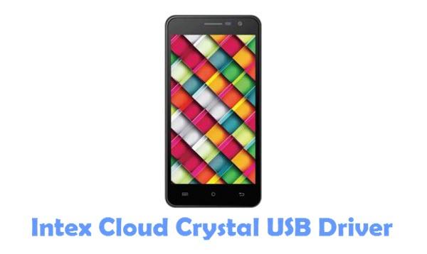 Download Intex Cloud Crystal USB Driver