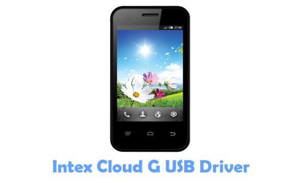 Download Intex Cloud G USB Driver