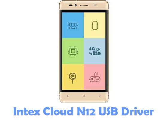 Download Intex Cloud N12 USB Driver