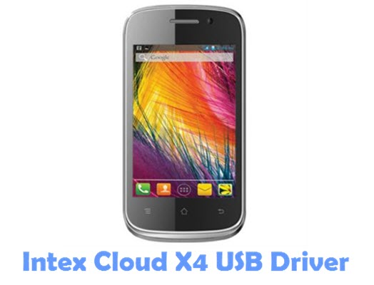 Download Intex Cloud X4 USB Driver