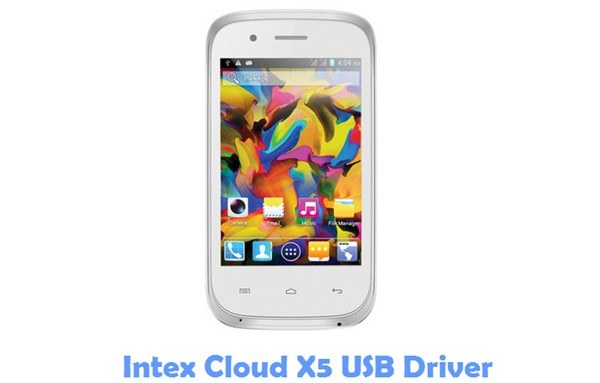 Download Intex Cloud X5 USB Driver
