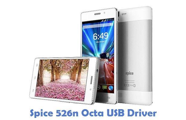 Spice 526n Octa USB Driver