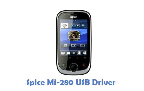 Spice Mi-280 USB Driver