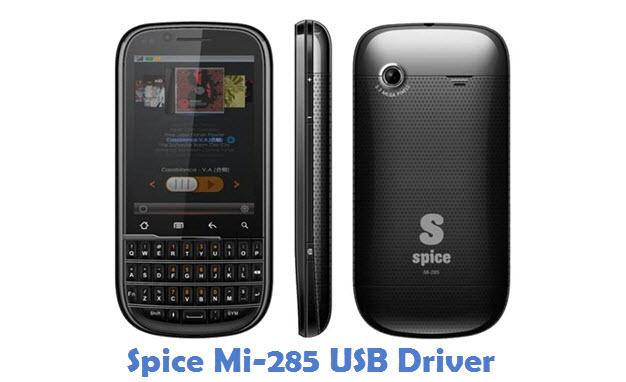 Spice Mi-285 USB Driver