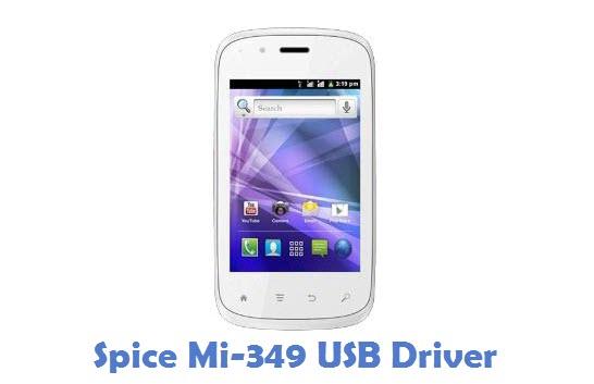 Spice Mi-349 USB Driver
