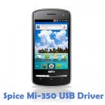 Spice Mi-350 USB Driver