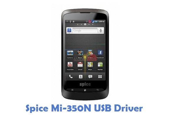 Spice Mi-350N USB Driver