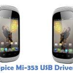 Spice Mi-353 USB Driver