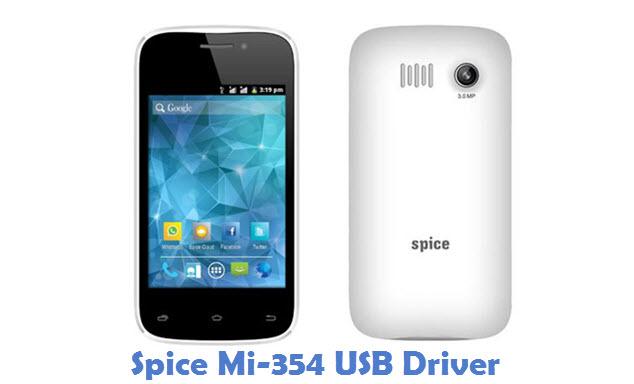 Spice Mi-354 USB Driver