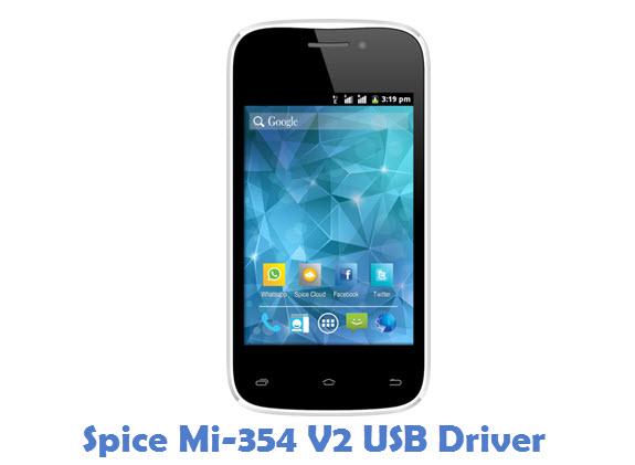 Spice Mi-354 V2 USB Driver
