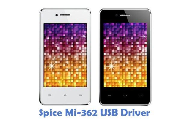 Spice Mi-362 USB Driver