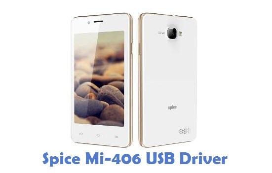 Spice Mi-406 USB Driver