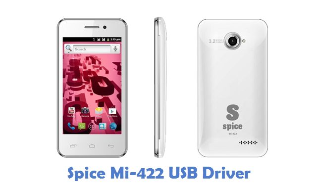 Spice Mi-422 USB Driver