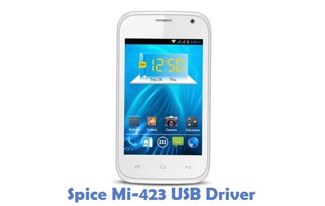 Spice Mi-423 USB Driver