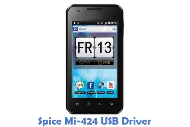 Spice Mi-424 USB Driver