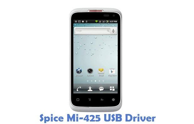 Spice Mi-425 USB Driver