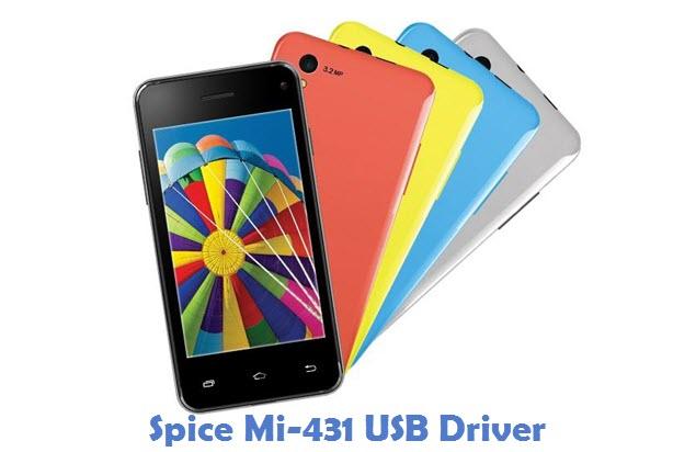 Spice Mi-431 USB Driver