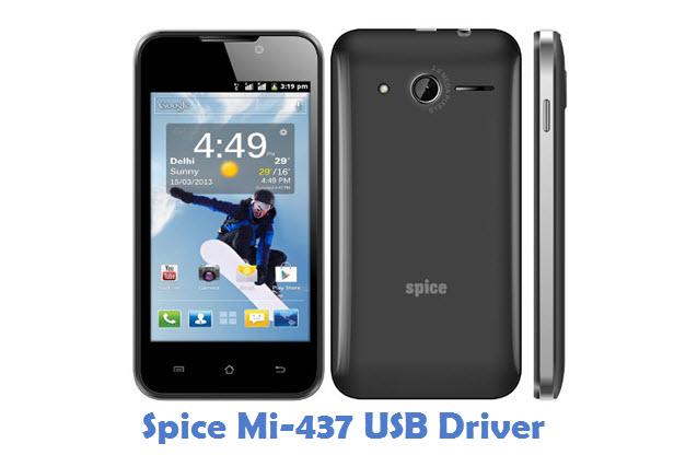 Spice Mi-437 USB Driver