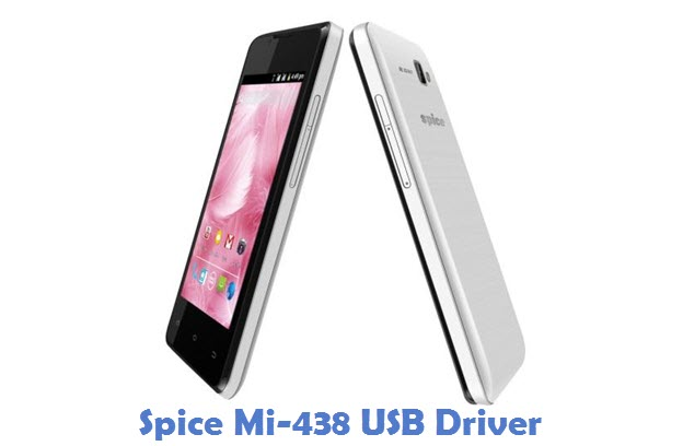 Spice Mi-438 USB Driver