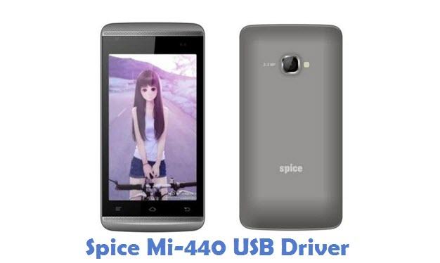 Spice Mi-440 USB Driver