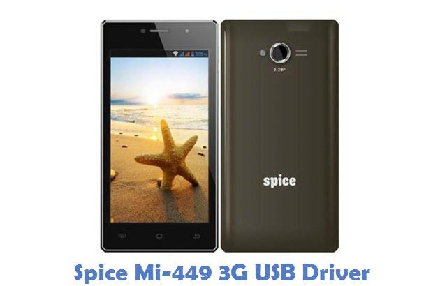 Spice Mi-449 3G USB Driver
