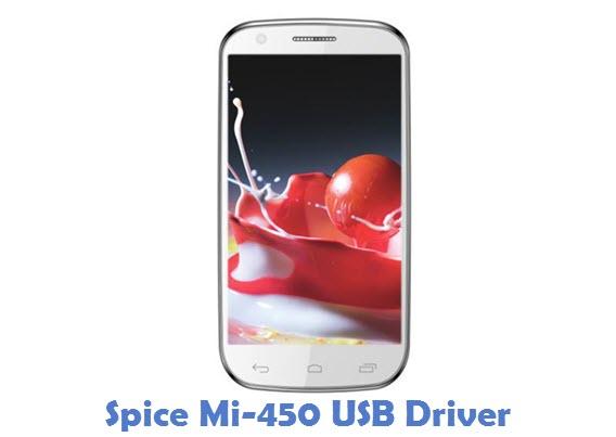 Spice Mi-450 USB Driver