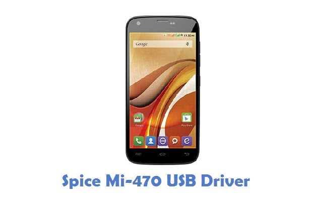 Spice Mi-470 USB Driver