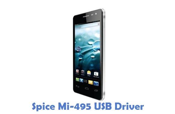 Spice Mi-495 USB Driver