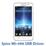 Spice Mi-496 USB Driver