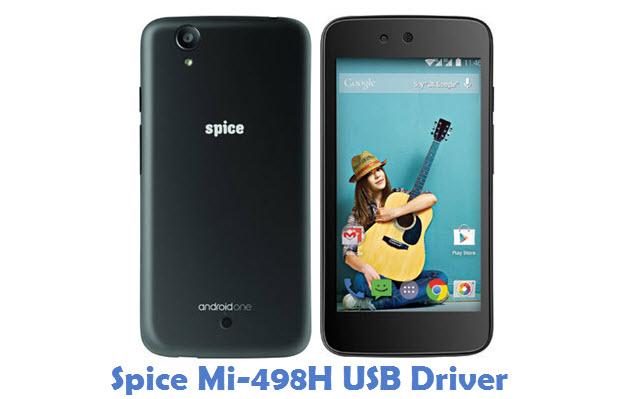 Spice Mi-498H USB Driver