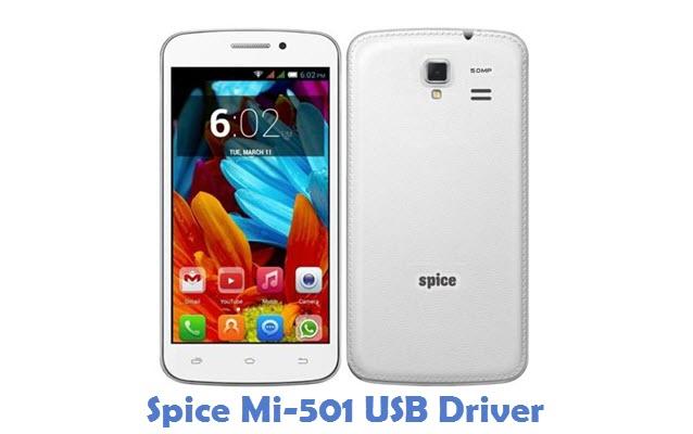 Spice Mi-501 USB Driver