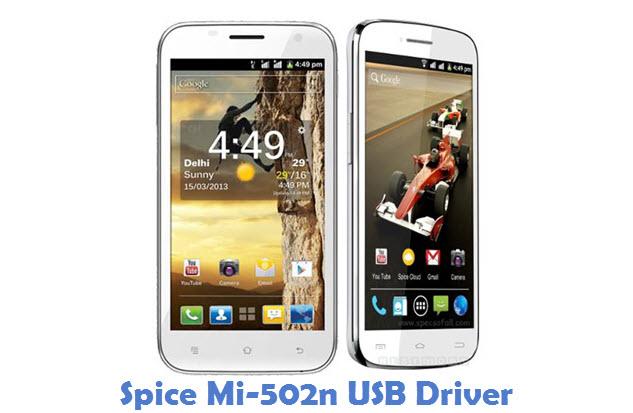 Spice Mi-502n USB Driver