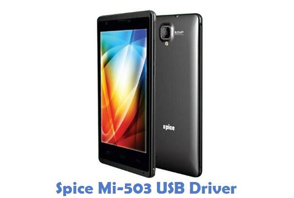Spice Mi-503 USB Driver