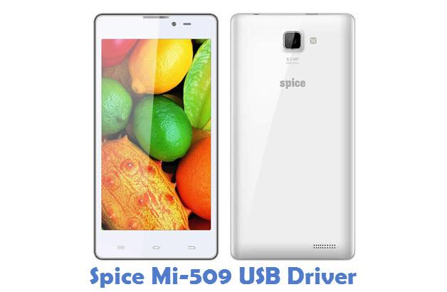 Spice Mi-509 USB Driver