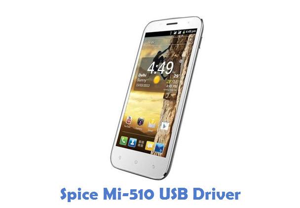 Spice Mi-510 USB Driver