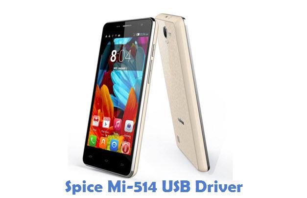 Spice Mi-514 USB Driver