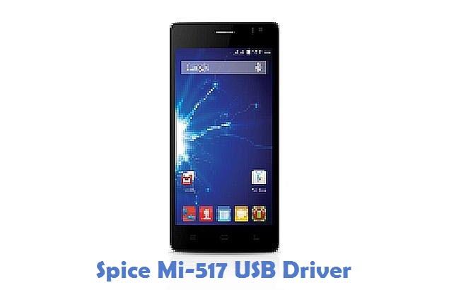 Spice Mi-517 USB Driver