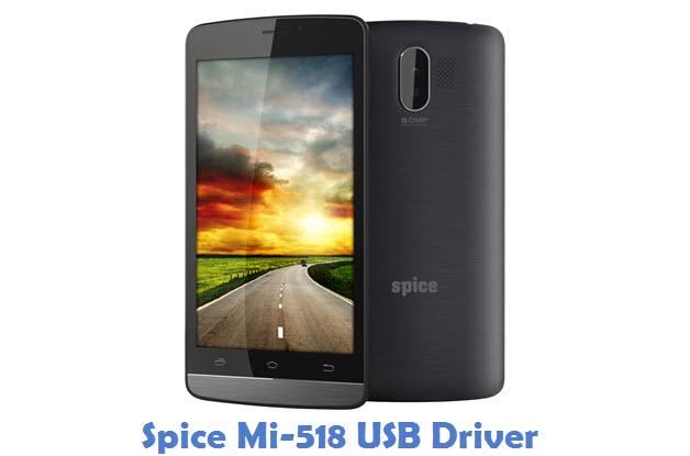Spice Mi-518 USB Driver