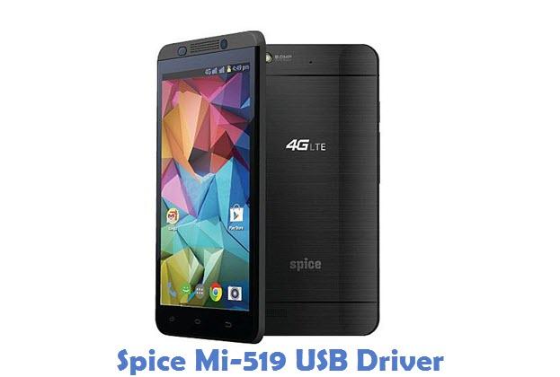 Spice Mi-519 USB Driver